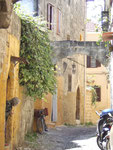 Winkel in der Altstadt von Rhodos