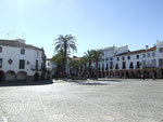 plaza mayor en Zafra