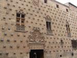 """das """"Muschelhaus"""" in Salamanca"""