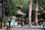 Le Temple Qingyang à Chengdu