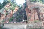 Le grand Buddha de Leshan