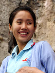 Mle Phonthip guide à Luang Prabang, Laos
