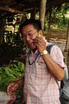 M. Somphone guide à Luang Prabang, Laos