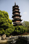 La pagode de Longhua à Shangai, The Longhua Pagoda in Shanghai