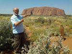 Australie 2013 Uluru - Ayers Rock  (Outback).