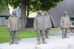 Roald Amundsen et ses équipiers