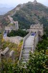 La Grande Muraille de Chine à Jinshanling