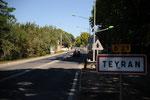 L'avenue de Montpellier à Teyran