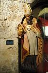 Saint Augustin Abbaye d'Orval en Belgique