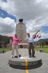 Amérique du Sud 2014 Equateur - El Mitad del Mundo