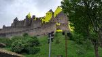 Felice Varini et Carcassonne