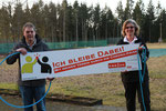 v.l. Thomas Langescheid (Vorsitzender TuS Oeckinghausen), Anja Esser (KSB MK)