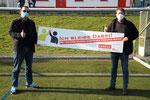 v.l. Markus Sand (Vorsitzender SV Affeln), Joachim Kneer (Vorsitzender LSV Sauerland)