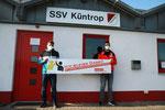 v.l. Florian Jardzejewski (2. Vorsitzender SSV Küntrop), Mauricio Sikora (Kassenwart)