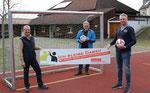 v.l. Dietmar Schäfer (Geschäftsführender Vorstand TV Griesenbrauck), Günther Nülle (KSB MK), Jens Lehrke (Geschäftsführender Vorstand TV Griesenbrauck)