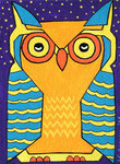 Owl_ Lonesome Curd © Pepponi Art