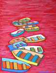 Europe_Spain_ Boats at Red Sea © Pepponi Art