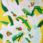 Nature & Flowers_ White Lillies © Pepponi Art