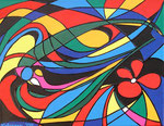 Abstract_ Coloured Dreams © Pepponi Art