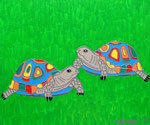 Tortoise Bobby and Heidi © Pepponi Art