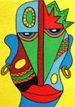 Art Card_African Warrior © Pepponi Art