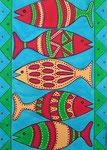 Fish_ Colored Fishes © Pepponi Art