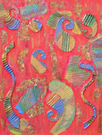 Abstract_ Colored Elegance © Pepponi Art