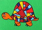 Art Card_Anton the Tortoise © Pepponi Art