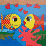 Special Order_ Fish_ Deep Blue @ Pepponi Art