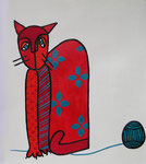 Cat_ Paula © Pepponi Art