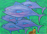 Fish_ Drama of Tuna Fish © Pepponi Art