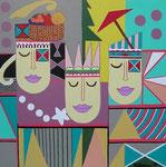 Asia_Bali_ 3 Heads I © Pepponi Art