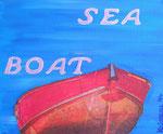 Abstract_ Boat Sea © Pepponi Art