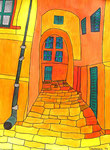 Europe_Italy_Italian Alley © Pepponi Art