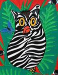 Owl_ Zebra  © Pepponi Art