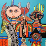 Africa_ Masks © Pepponi Art