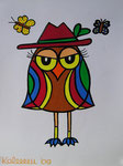 Owl_ Mrs Owl © Pepponi Art
