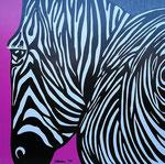 Africa_ Zebra Pink © Pepponi Art
