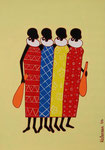 Africa_ Masai Women © Pepponi Art