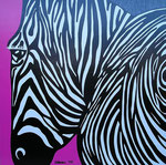 Special Order_ Africa_ Zebra Pink © Pepponi Art
