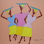 Africa_ 3 Market Women © Pepponi Art