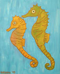 Fish_ Sea Horses Bruce and Lee © Pepponi Art