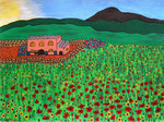 Europe_Spain_Mallorca_Red Poppy © Pepponi Art