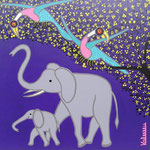 Africa_Tinga-Tinga Elephant © Pepponi Art