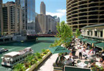 Impressions_ USA_ Chicago River Restaurat © Pepponi
