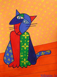Cat_ Sam the Tomcat © Pepponi Art