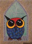 Owl_ In Tower Window © Pepponi Art