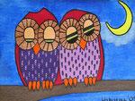Owl_ Bärbel und Hans © Pepponi Art