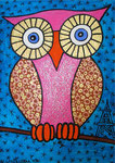 Owl_ Madame Coco  © Pepponi Art