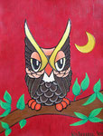 Birds_Eagle Owl © Pepponi Art